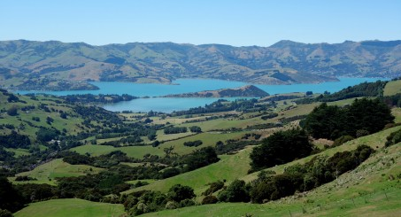 Akaroa Harbour, New Zealand